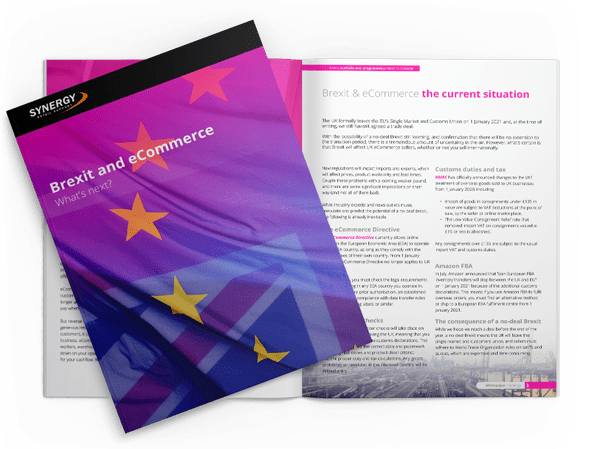 Synergy Retail Support - Brexit and eCommerce Whitepaper